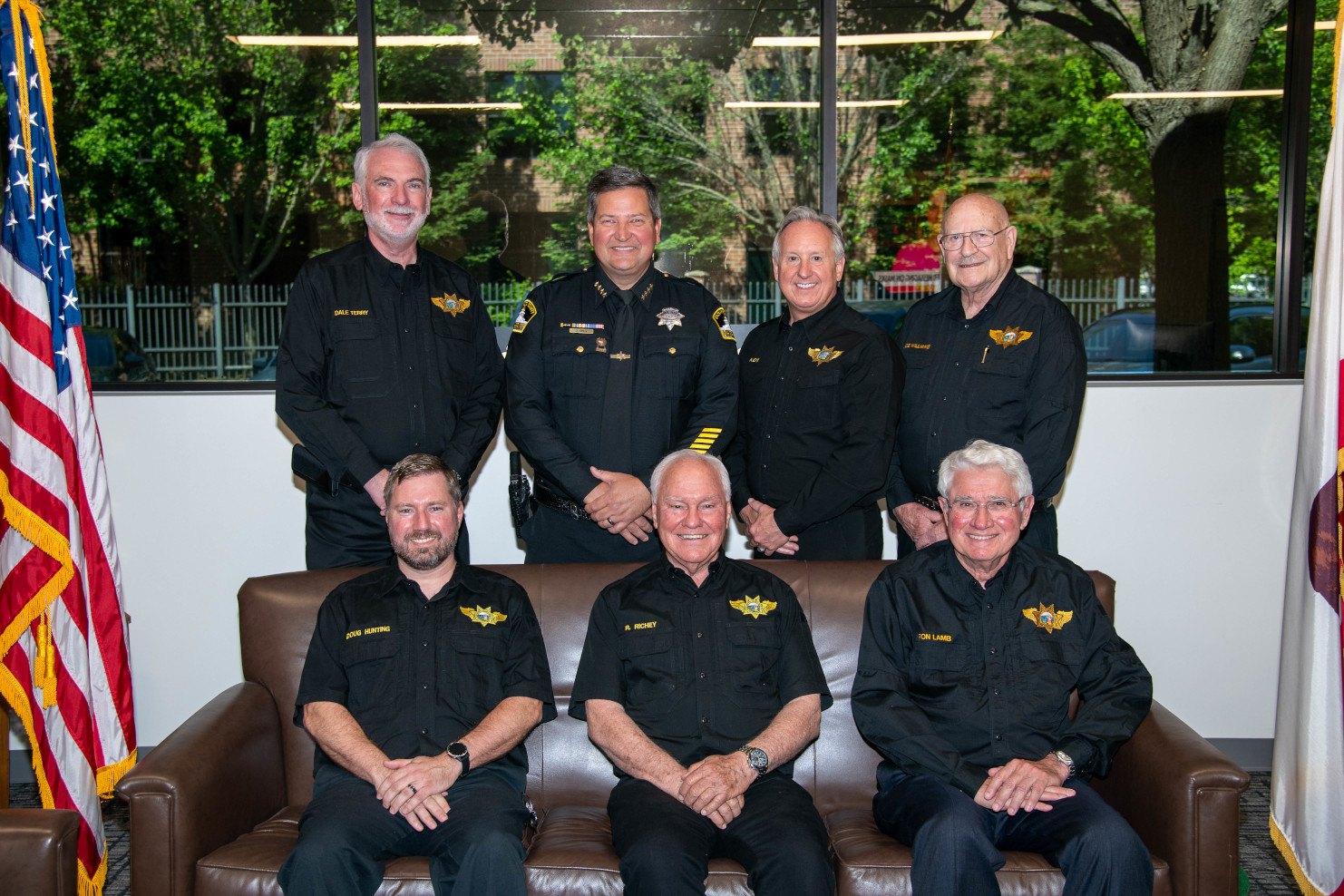 2021 Officers with Sheriff Jones